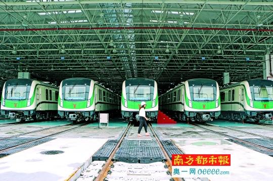 广州地铁七号线广州南站至大学城南年底开通_