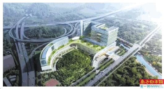 """坪山区人民医院迁址重建项目 入选""""十佳医院建筑设计方案"""""""